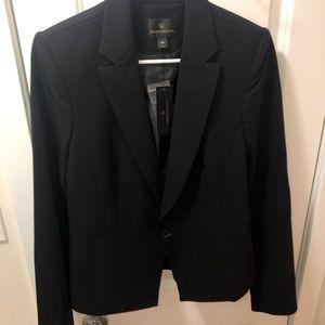 Tall black womens blazer